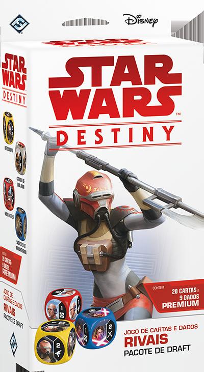 Jogo Star Wars Destiny Pacote de Draft - Rivais