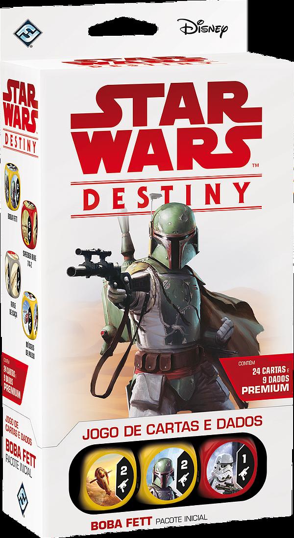 Jogo Star Wars Destiny Pacote Inicial -  Boba Fett