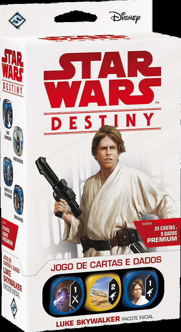 Jogo Star Wars Destiny Pacote Inicial -  Luke Skywalker