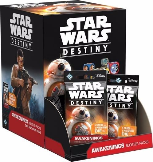 Jogo Star Wars Destiny Pacotes de Expansão - Box Despertares c/36