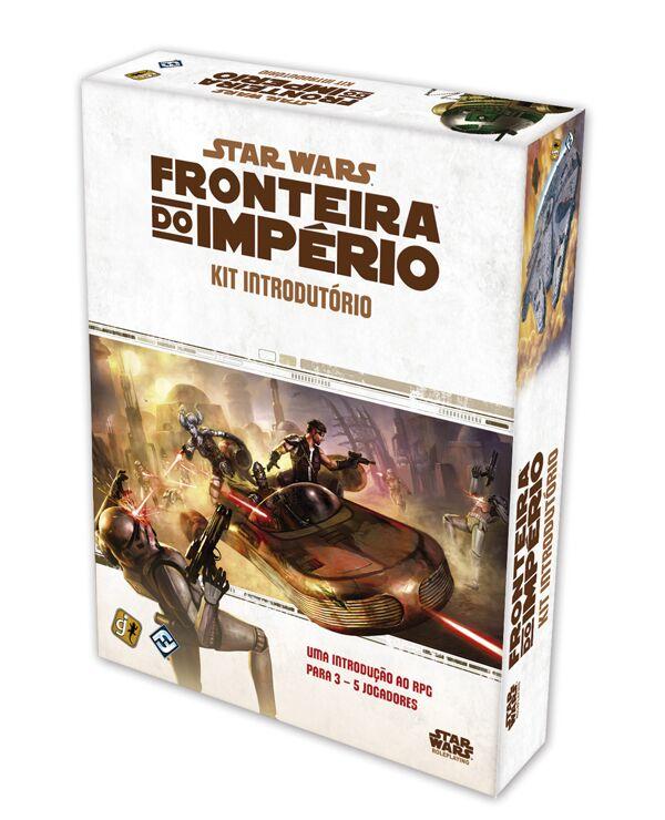 Jogo Star Wars RPG - Fronteira do Império: Kit Introdutório