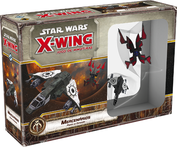 Jogo Star Wars X-Wing Expansão Aces - Mercenários