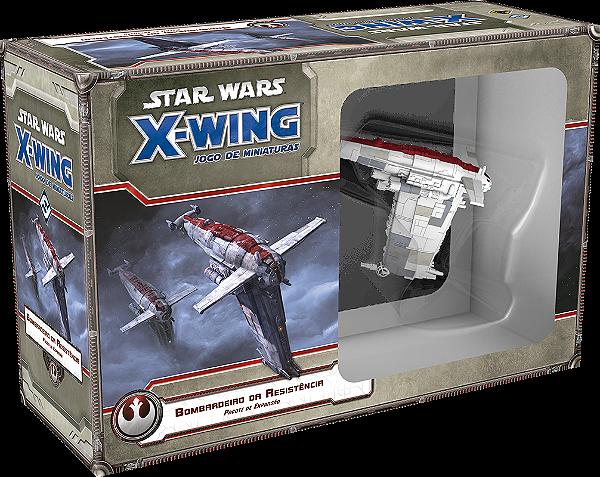 Jogo Star Wars X-Wing Expansão Bombardeiro da Resistência