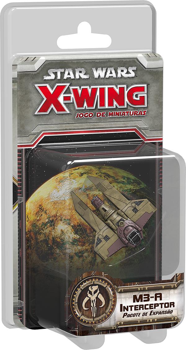 Jogo Star Wars X-Wing Expansão M3-A Interceptor