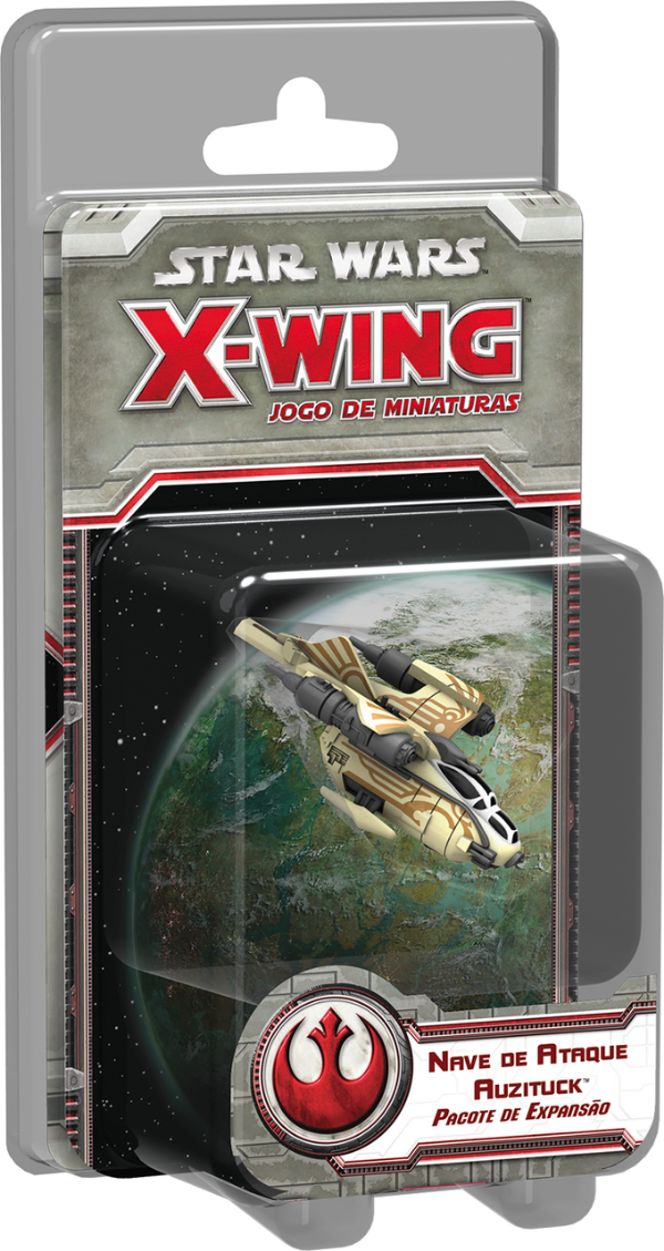 Jogo Star Wars X-Wing Expansão Nave de Ataque Auzituck
