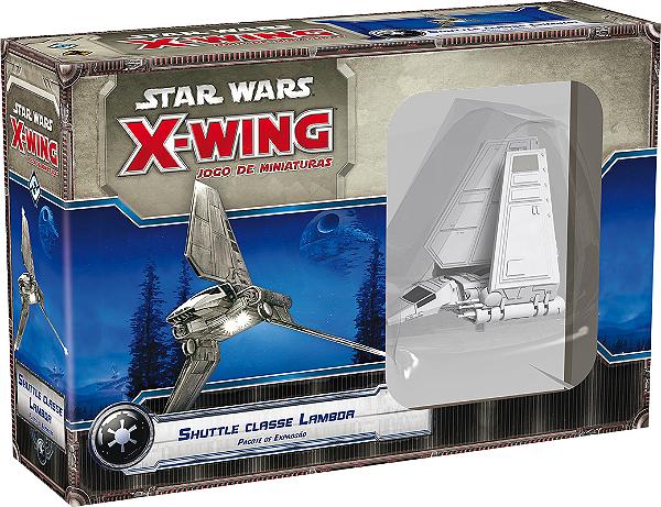 Jogo Star Wars X-Wing Expansão Shuttle Classe Lambda