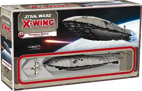 Jogo Star Wars X-Wing Expansão Transporte Rebelde