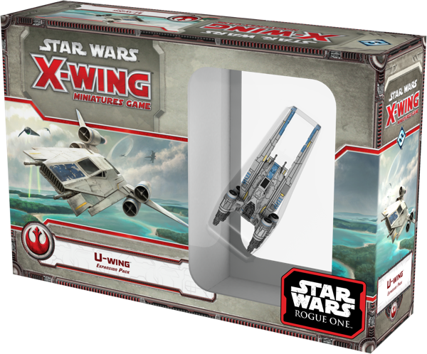 Jogo Star Wars X-Wing Expansão U-wing