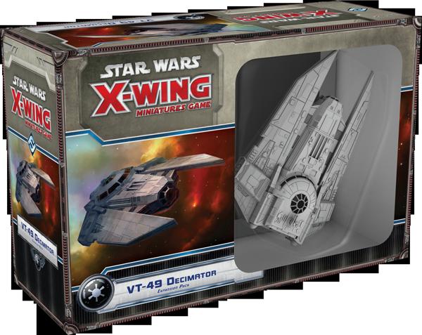 Jogo Star Wars X-Wing Expansão VT-49 Decimator