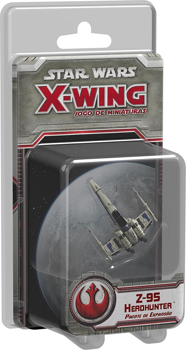 Jogo Star Wars X-Wing Expansão Z-95 Headhunter