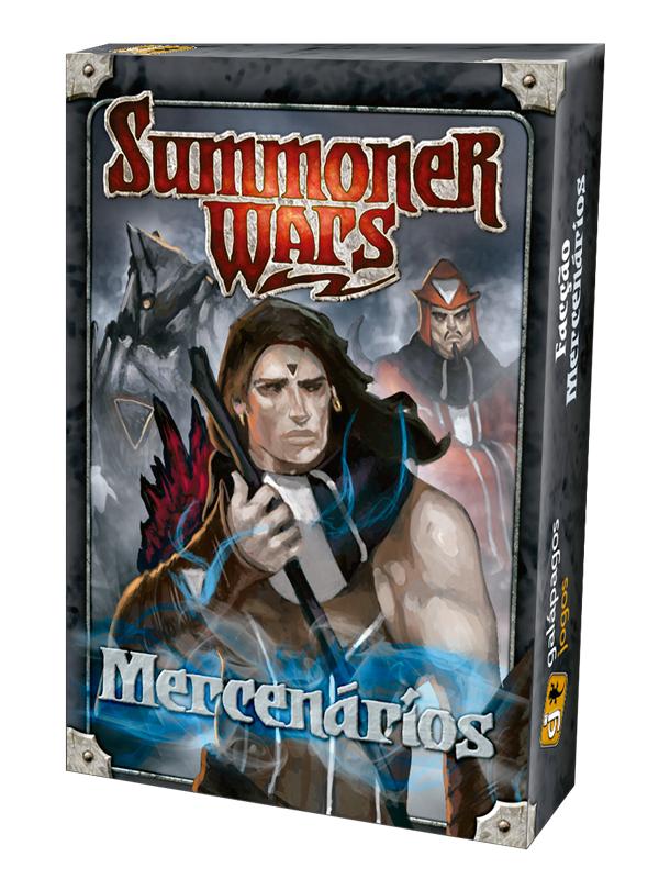 Jogo Summoner Wars Expansão Facção Mercenários