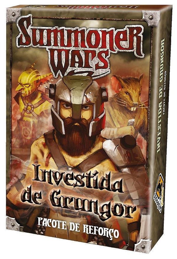 Jogo Summoner Wars Pacote de Reforço Investida de Grungor