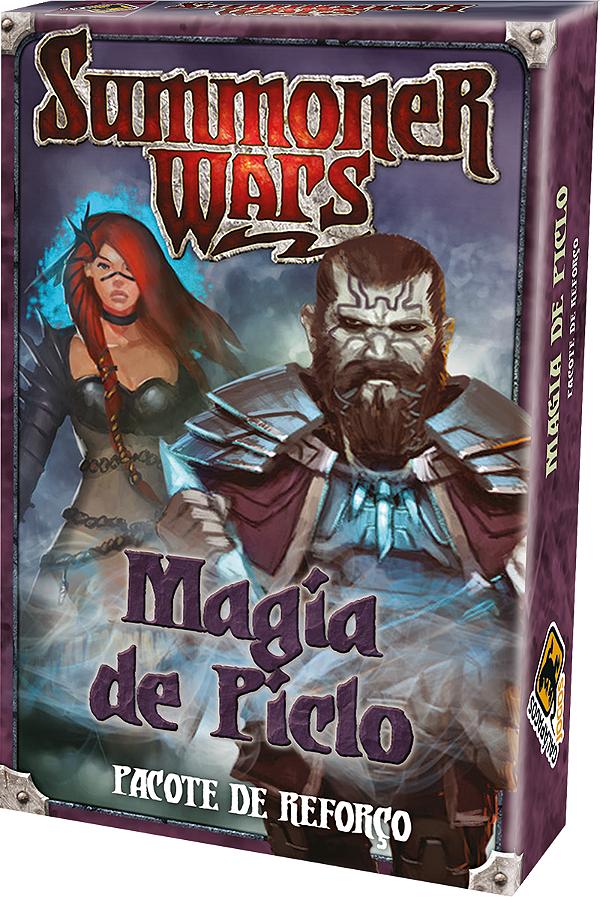 Jogo Summoner Wars Pacote de Reforço Magia de Piclo