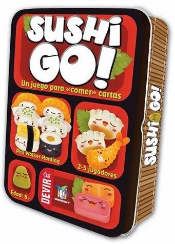 Jogo Sushi Go
