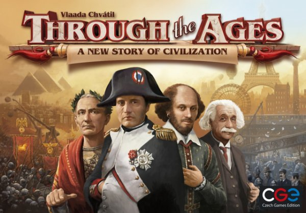 Jogo Through the Ages A New Story Of Civilization