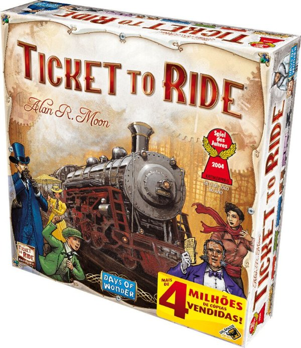Jogo Ticket to Ride
