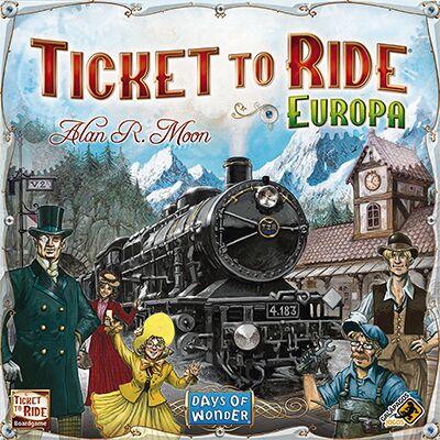 Jogo Ticket to Ride Europa