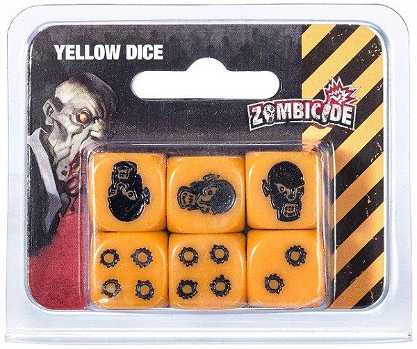 Jogo Zombicide - Dados Zombicide Amarelo