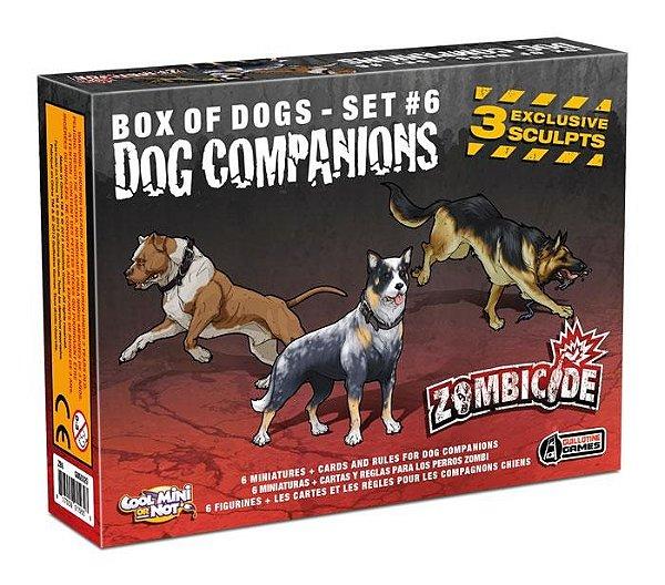 Jogo Zombicide - Expansão Dog Companions