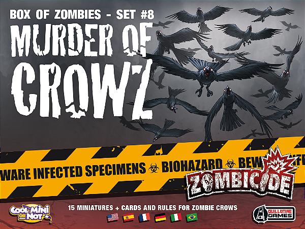 Jogo Zombicide - Expansão Murder of Crowz