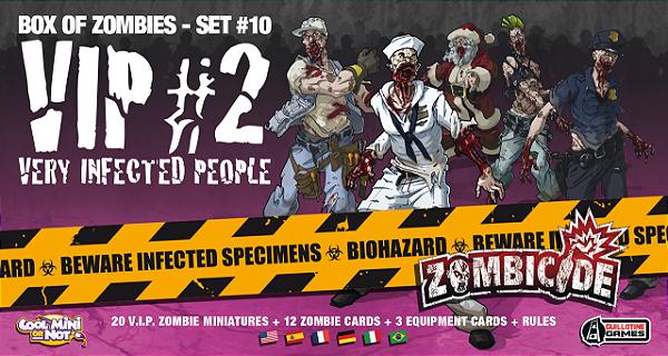 Jogo Zombicide - Expansão V.I.P. #2