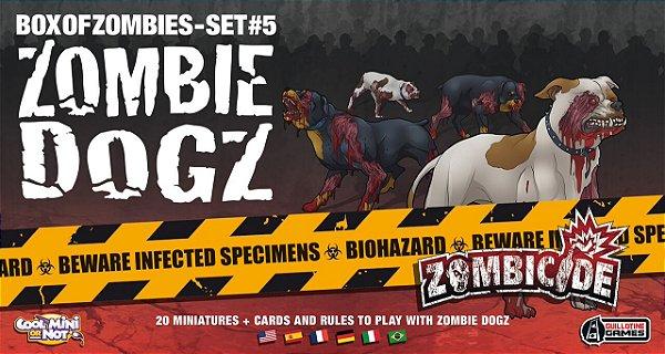 Jogo Zombicide - Expansão Zombie Dogz