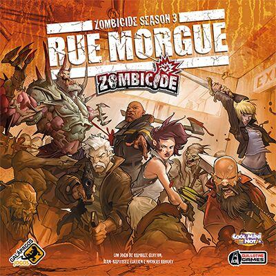 Jogo Zombicide Rue Morgue Season 3