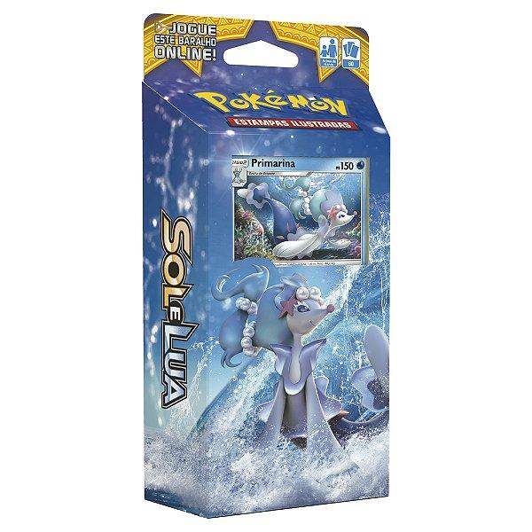 Pokémon Deck Sol E Lua - Maré Brilhante Primarina