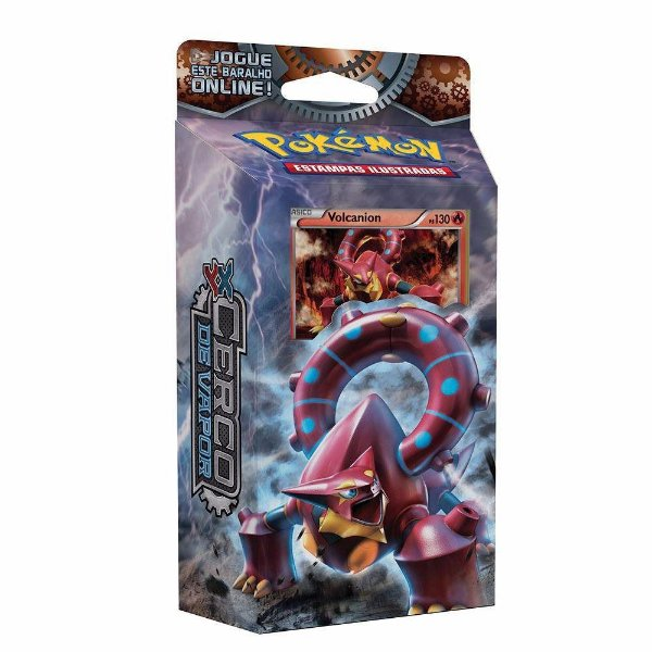 Pokémon Deck XY11 Cerco de Vapor - Volcanion