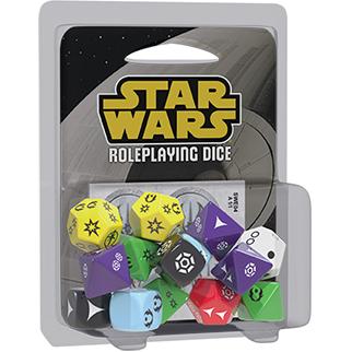 Star Wars RPG - Kit de Dados