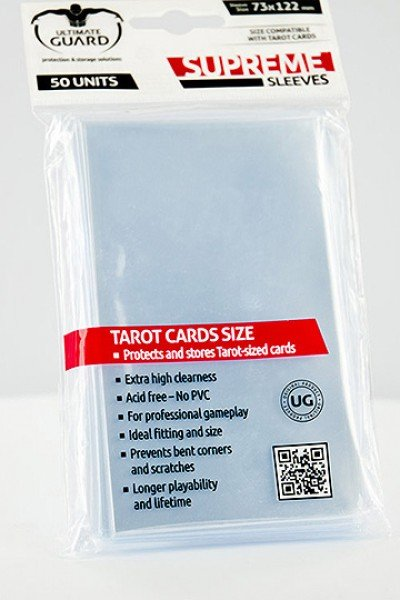 UG Supreme Sleeves Tarot Cards (50)
