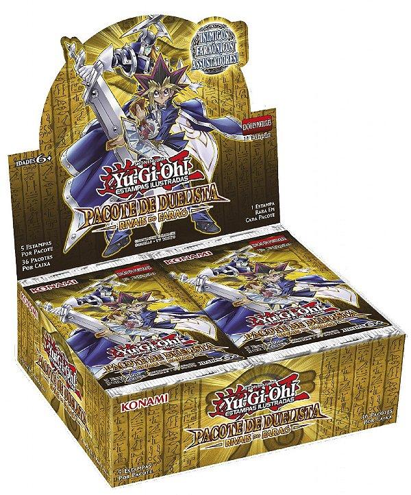 Yu-Gi-Oh!  Pacote do Duelista Rivais do Faraó