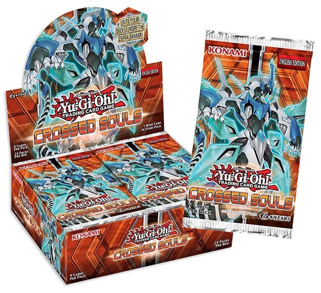 Yu-Gi-Oh! Booster Box Almas Cruzadas