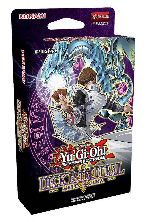 Yu-Gi-Oh! Deck Estrutural Seto Kaiba