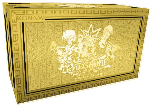 Yu-Gi-Oh! Decks Lendários II (Yugi, Kaiba e Joey)