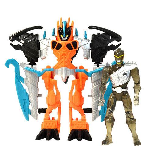 Power Rangers Dino Charge - Zord Armor Ranger Preto