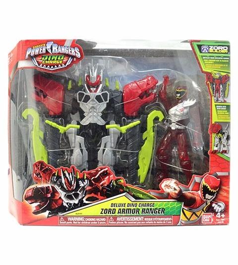 Power Rangers Dino Charge - Zord Armor Ranger Vermelho