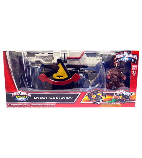 Power Rangers Ninja Steel - Estação de Batalha Ranger Vermelho