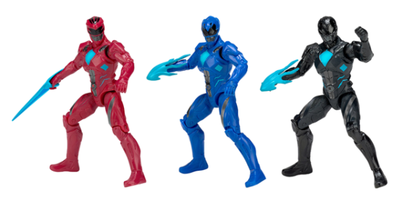 Power Rangers O Filme - Pack Com 3 Bonecos