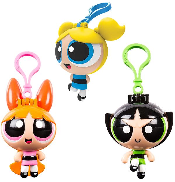 Chaveiro Meninas Super Poderosas - Pack com 3