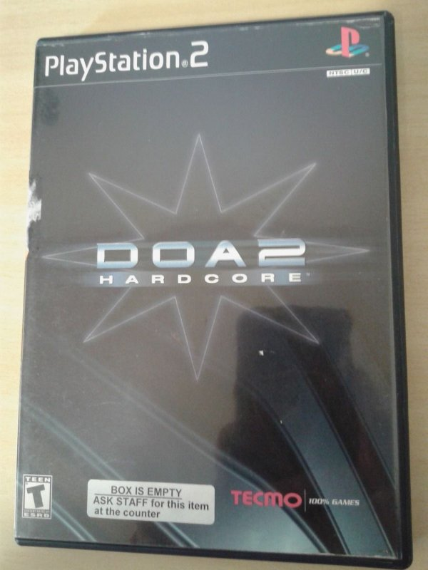 Game Para PS2 - Doa 2 Hardcore NTSC-US