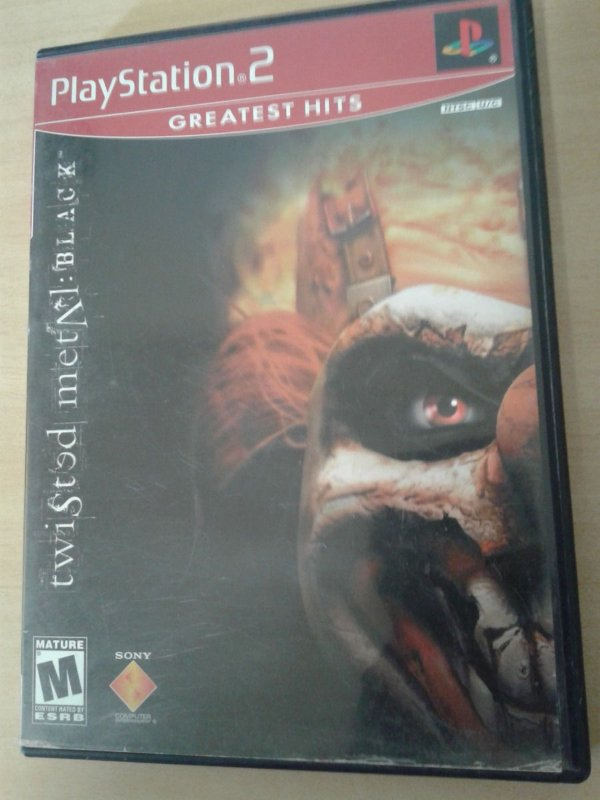 Game Para PS2 - Twisted Metal Black NTSC-US