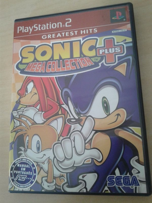 Game Para PS2 - Sonic Mega Collection Plus NTSC-US