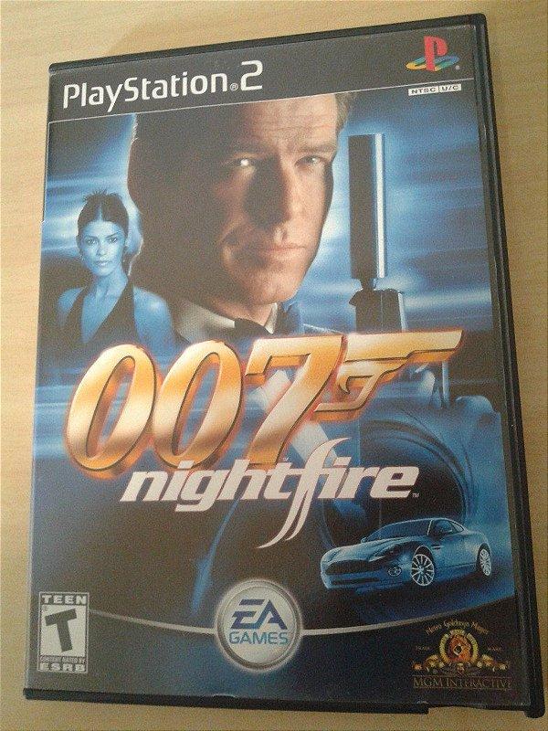 Game Para PS2 - 007 Night Fire NTSC/US