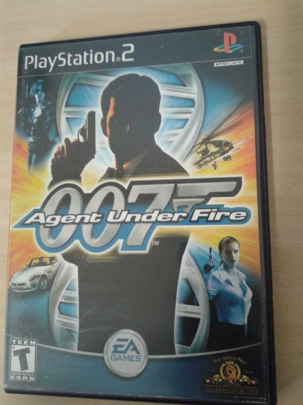 Game Para PS2 - 007 Agent Under Fire NTSC/US