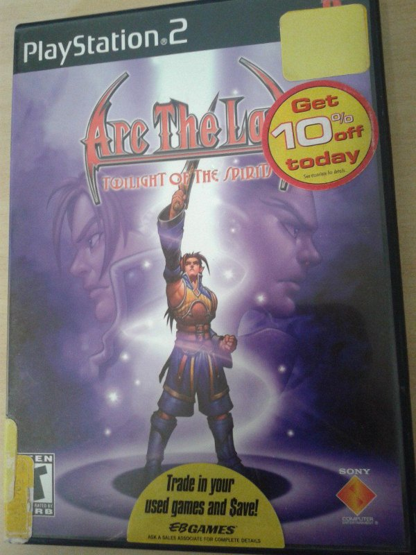Game Para PS2 - Arc the Lad: Twilight of the Spirits NTSC/US