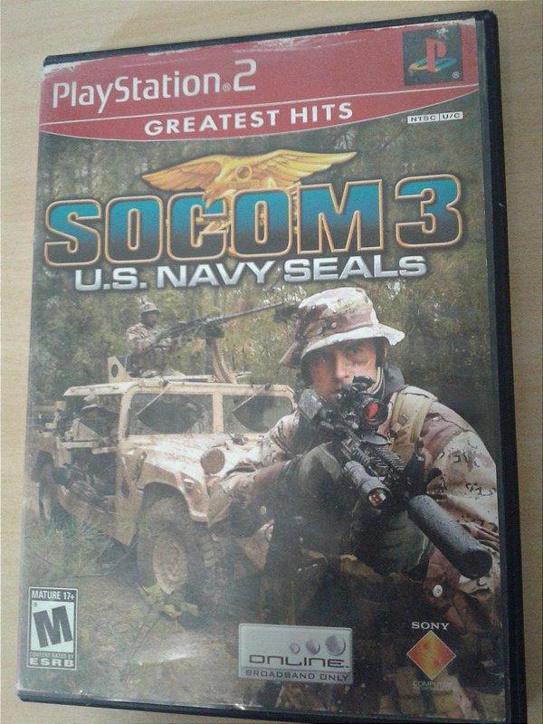 Game Para PS2 - Socom 3: U.s Navy Seals NTSC/US