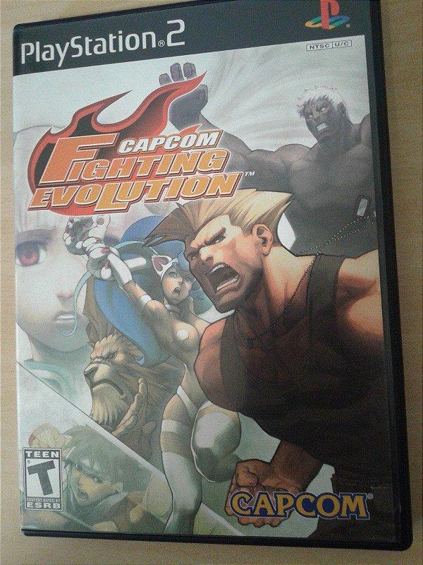 Game Para PS2 - Capcom Fighting Evolution NTSC/US