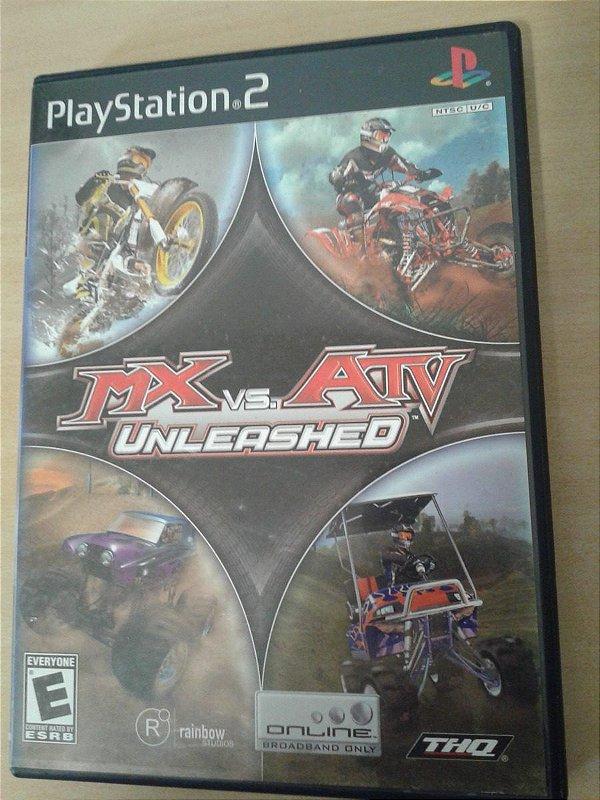 Game Para PS2 - Mx Vs. Atv Unleashed NTSC/US