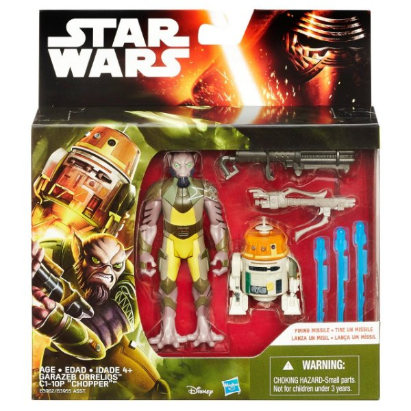 Boneco Star Wars The Force Awakens - Garazeb Orrelios e C1-10P
